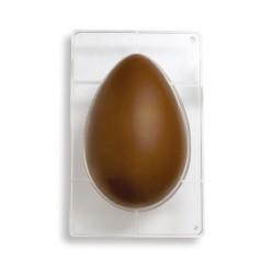 Stampo Uova di cioccolato in policarbonato 1 cavità da Gr. 750 - Decora