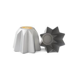 Stampo pandoro in alluminio anodizzato Gr. 750 - Decora