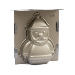 Stampo 3D Babbo Natale antiaderente - Decora