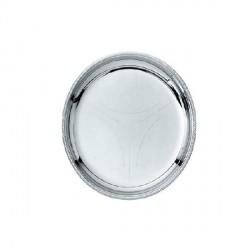 Mercurio, Sottobicchiere in acciaio satinato con bordo lucido 6 pezzi - Alessi