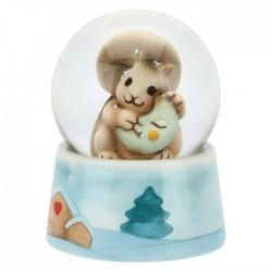Palla di vetro con luna piccola - Thun