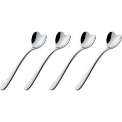 Set di quattro cucchiaini da caffè