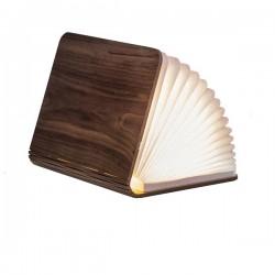 Lampada smart a libro, standard, walnut- Gingko