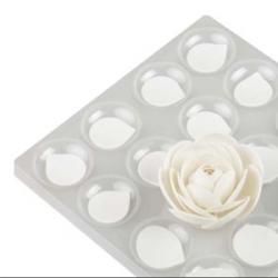 Set 4 asciuga-petali-forma fiori