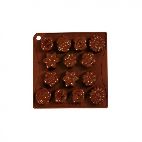 Stampo in silicone Choco-Ice Bouquet - Pavoni