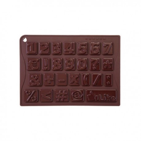 Stampo in silicone Choco-Ice 123* - Pavoni