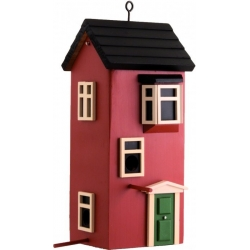 "Mangiatoia per uccelli Townhose ""Townhouse Terracotta"" - Wildlife Garden"