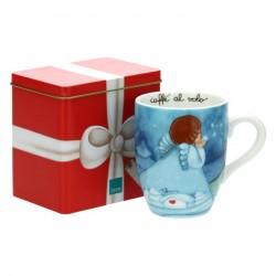 Mug con scatola in latta Chiaro di luna - Thun