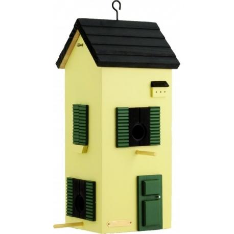 "Mangiatoia per uccelli Townhose ""Townhouse Yellow"""