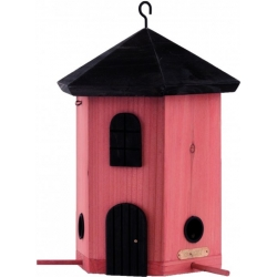 "Mangiatoia per uccelli fienile ""Tower Feeder Red"""