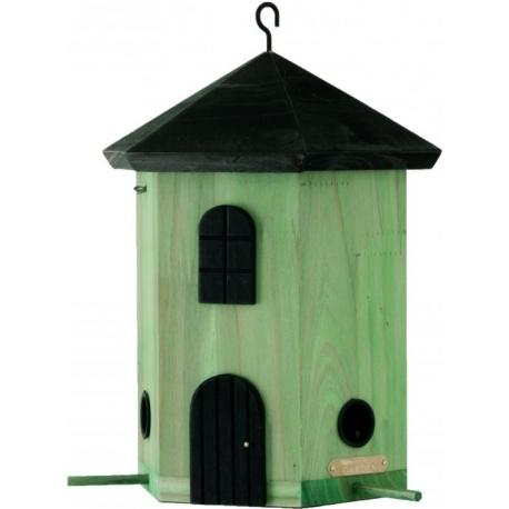 """Mangiatoia per uccelli fienile """"Tower Feeder Green"""""""