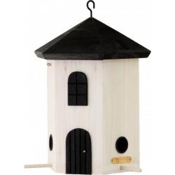 "Mangiatoia per uccelli fienile ""Tower Feeder White"""