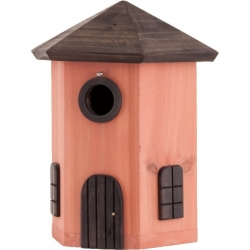 "Mangiatoia per uccelli fienile ""Tower Nest Box Red"""