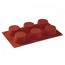 Stampo in silicone 6 porzioni CupCake - Pavoni