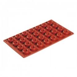 Stampo in silicone 28 porzioni Savarin - Pavoni