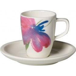 Artesano Flower Art Tazza espresso con piatto 2 pezzi - Villeroy & Boch