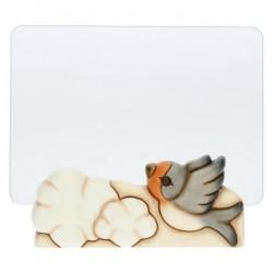 Portafoto in vetro rondine Pioggia di colori - Thun