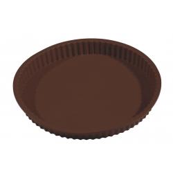 Tortiera crostata cannellata stretta silicone Ø cm. 28x3 h. - Pavoni