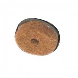 Ricambio piedino molleggiato antirumore con feltro Mm. 36 - Genius