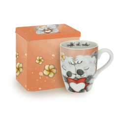 Mug con scatola in latta Koala love - Thun