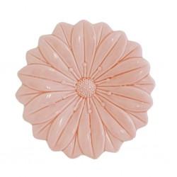 Evaporiamo, Fiore rosa in porcellana Cm. 17,5xh. 17,5 Cm. - Rose & Tulipani