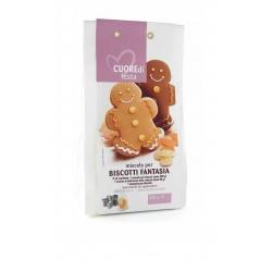 Miscela per biscotti fantasia gr. 250