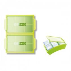 Zoku Jumbo Ice Trays Stampo per 3 forme ghiaccio - Zoku