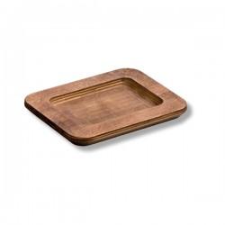 Vassoio rettangolare in legno Cm.8,8x15,06x1,7 - Lodge