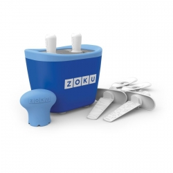 Zoku 2 quick pop maker per ghiaccioli immediati blu - Zoku