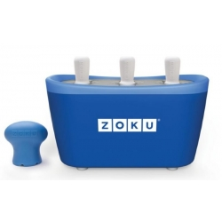 Zoku 3 quick pop maker per ghiaccioli immediati blu - Zoku
