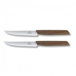 Swiss modern coltello bistecca lama ondulata Set 2Pz - Victorinox