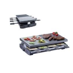 Raclette elettrica con due piastre - Steba