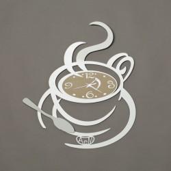 Orologio Al Bar, Bianco - Arti e Mestieri