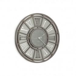 Orologio Classic, Ardesia e Alluminio - Arti e Mestieri