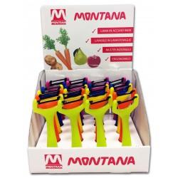 Box 20 sbucciatutto colori assortiti - Montana