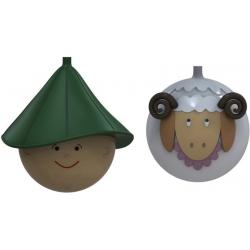 Pastorello e Pecorello, Palle Natale - Alessi