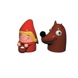 """""""Cappuccetto Rosso e il Lupo"""", Statuine - Alessi"""