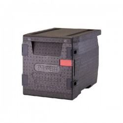Contenitore Termobox, Caricamento frontale unità multiuso per bacinelle GN 1/1 con 8 guide - Pavoni