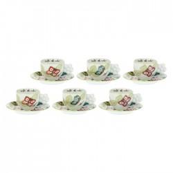 Set 6 tazzine caffè Farfalle in Festa - Thun