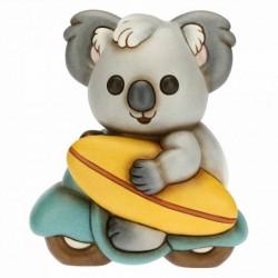 Koala Surfing Sidney medio su moto - Thun