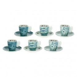 Set 6 tazzine caffè Mare - Thun