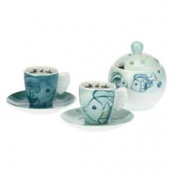 Set 2 tazzine caffè e zuccheriera Mare - Thun