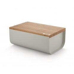 Mattina Bread Box, Cassetta Per Pane Bianca - Alessi