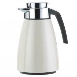 Bell, Caraffa termica quicktip 1 lt. bianco metallizzato - Emsa