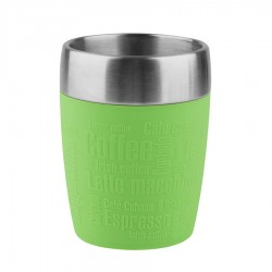 Travel Cup, Bicchiere termico 0,2lt. Acc/limone - Emsa