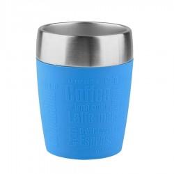 Travel Cup, Bicchiere termico 0,2lt. Acc/blu - Emsa