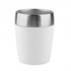 Travel Cup, Travel Cup 0.2lt. Silicon sl./Wh - Emsa