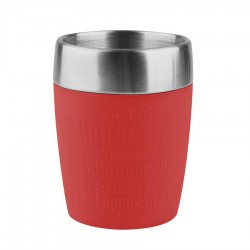 Travel Cup, Travel Cup 0.2lt. Silicon sl./Red - Emsa