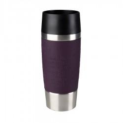 Travel Mug, Bicchiere termico 0,36 lt. Fascia silicone - Emsa