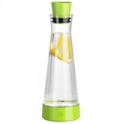 Flow Slim Friends, Caraffa ElementoReffrigerante 1 lt. Vet./verde chiaro - Emsa